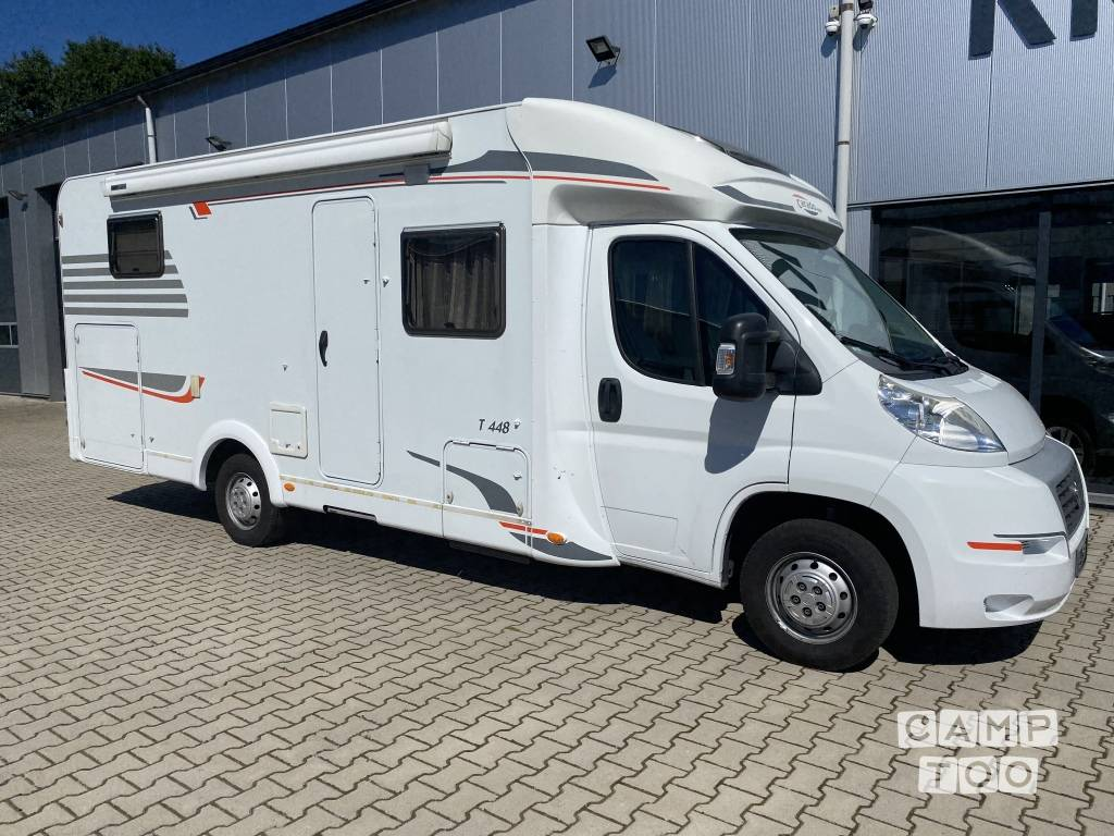 Hymer camper from 2012: photo 1/23