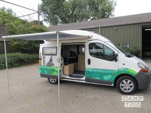 Renault TRAFIC T29 L2/H2 2.0 DCI 84KW E4 camper from 2007