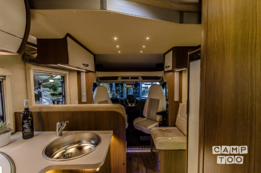 Roller Team T-7000 ELEGANCE camper from 2017