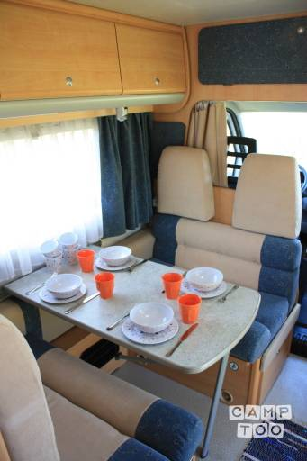 Fiat Chausson camper from 2001
