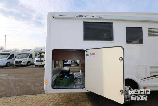 Fiat Mclouis Sovereign camper from 2015