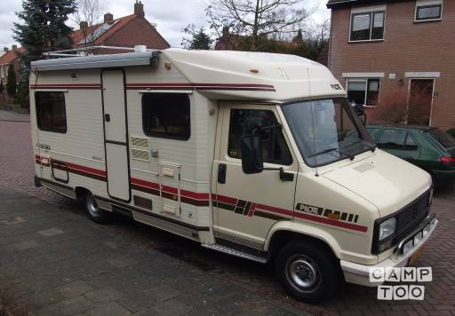 Peugeot J5 Pilote R630 camper from 1987 - Campers for rent in ...
