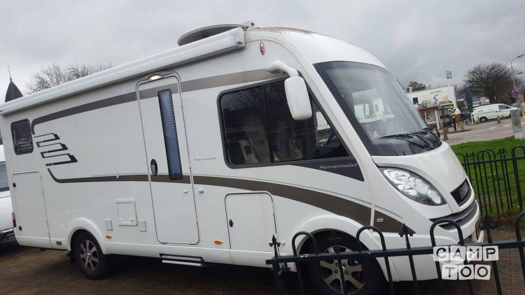Hymer camper from 2015: photo 1/8