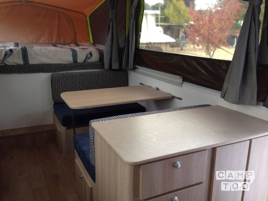 Jayco Swan Outback caravan from 2015 - Caravans for rent in