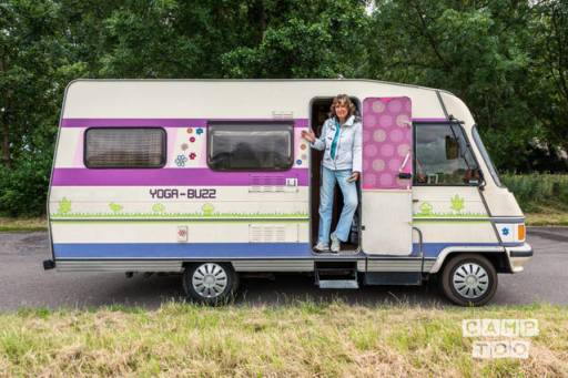 Hymer Hymermobil camper uit 1984