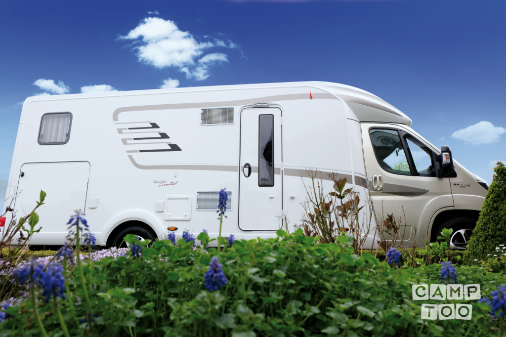 Hymer camper from 2017: photo 1/12