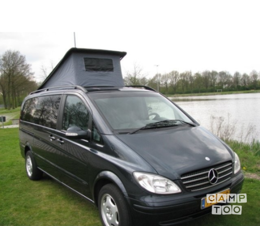 mercedes benz viano cdi 2 2 camper from 2004 campers for. Black Bedroom Furniture Sets. Home Design Ideas