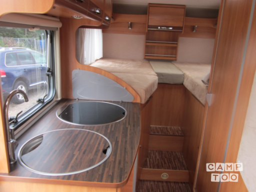 Hymer Exsis 562 camper from 2011
