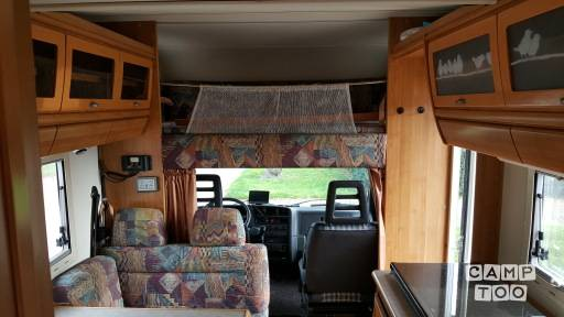 FIAT HYMER Camp 644 Ducato 2.5 TDI camper from 1995