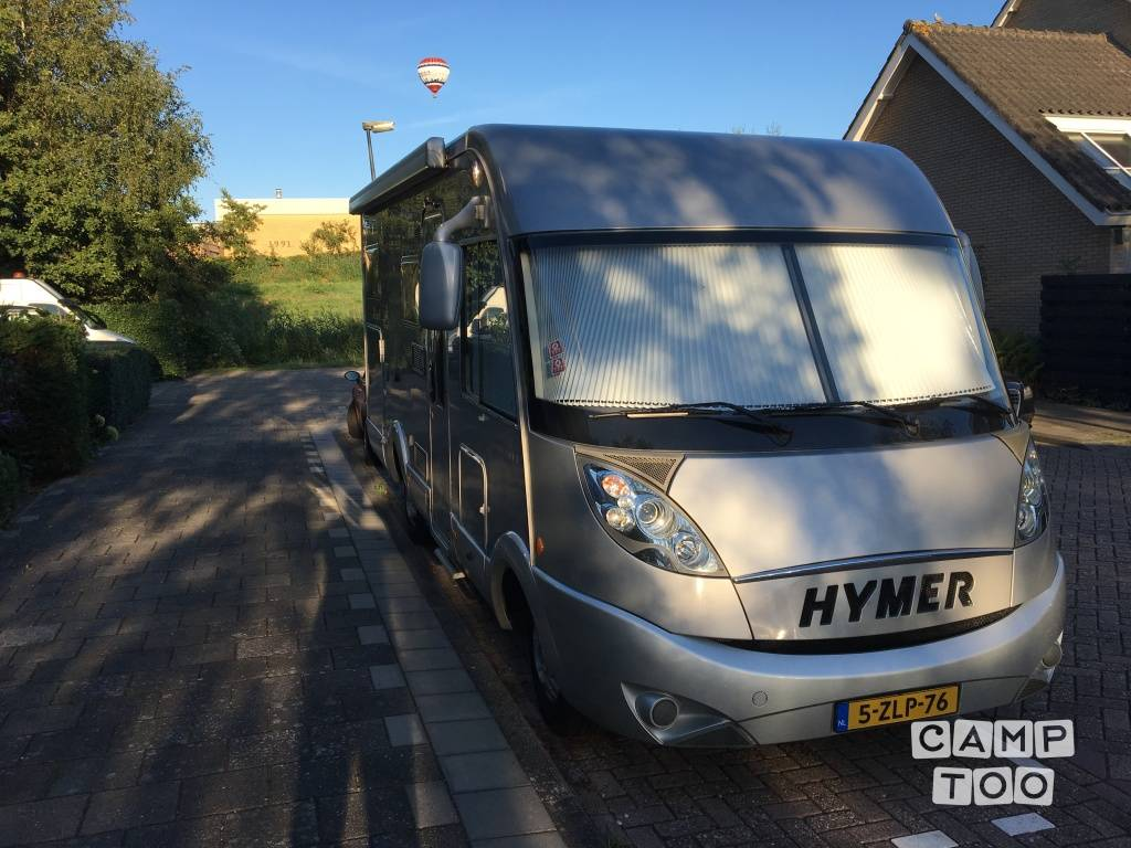 Hymer camper from 2007: photo 1/16