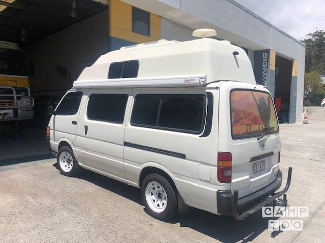 Hire this Toyota Hiace camper with Camptoo