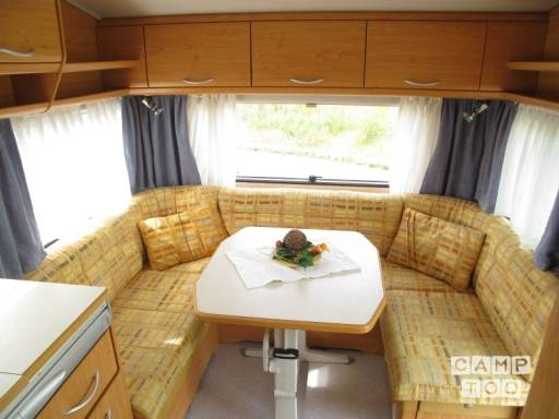 Knaus Bleu line 450 TF caravan from 2000