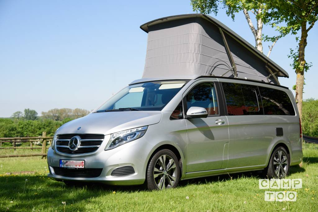 Mercedes-Benz camper from 2018: photo 1/9